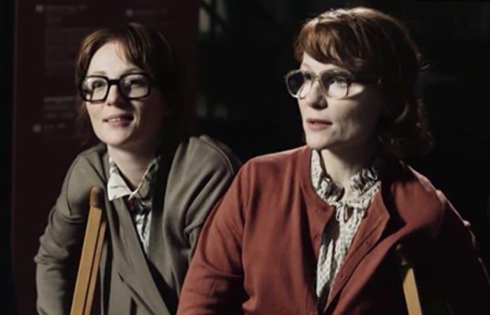 Сестры Кутеповы в сериале *Мертвое озеро*, 2019 | Фото: kino-teatr.ru