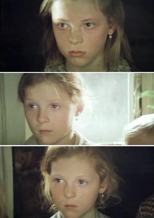 Злата, Ксения и Полина Кутеповы в фильме *Василий и Василиса*, 1981 | Фото: kino-teatr.ru
