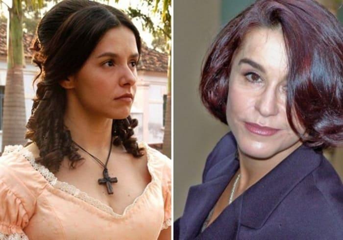 Бразильская актриса, которую всю жизнь называли Изаурой | Фото: cosmo.ru и telegraf.com.ua
