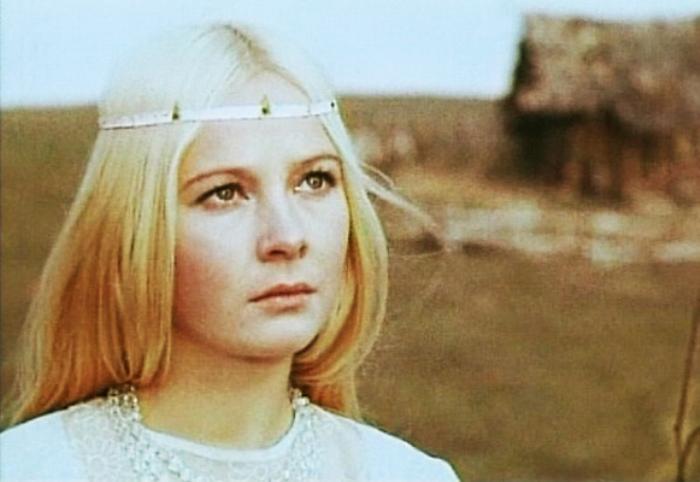 Наталья Богунова в фильме *Весенняя сказка*, 1971