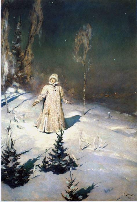 В. Васнецов. Снегурочка, 1899