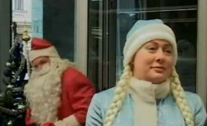 Мария Аронова в роли Снегурочки | Фото: aronova.net