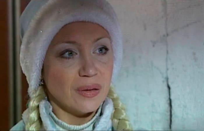 Светлана Письмиченко в роли Снегурочки | Фото: kino-teatr.ru
