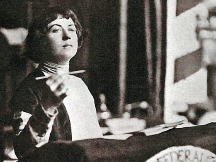 Идеолог свободной любви Александра Коллонтай | Фото: historytime.ru