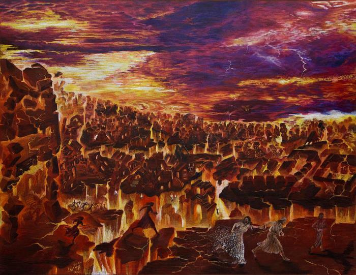 Разрушение Содома и Гоморры
