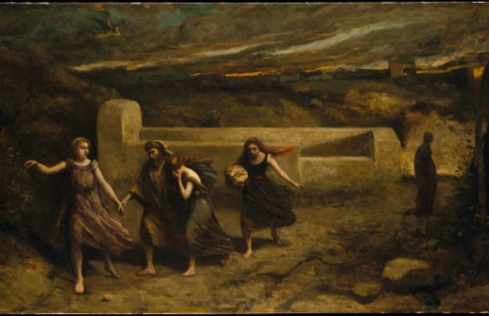 Камиль Коро. Разрушение Содома, 1857