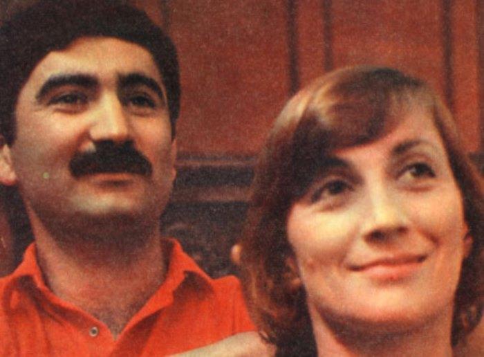 Георгий Шенгелая и Софико Чиаурели, 1974 | Фото: vokrug.tv