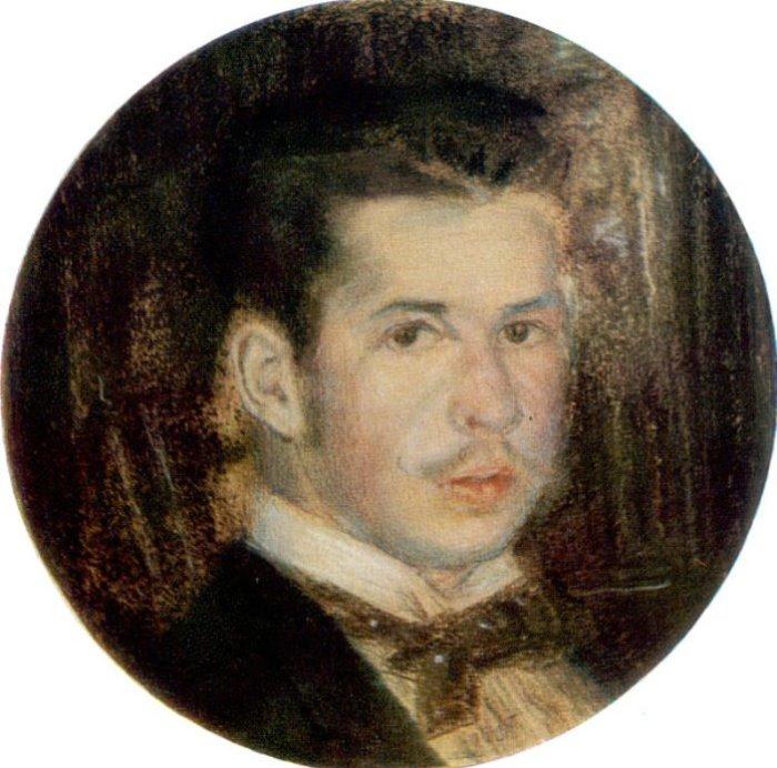 К. Сомов. Автопортрет, 1895 | Фото: artsait.ru