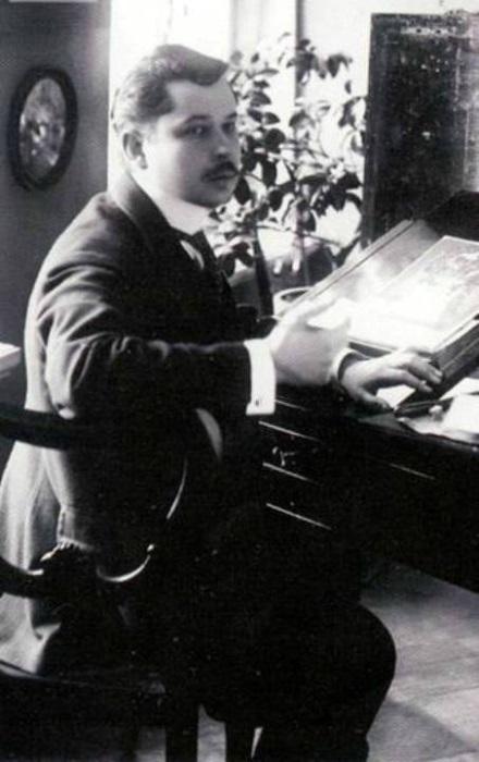 К. Сомов. Фото, 1910 | Фото: liveinternet.ru