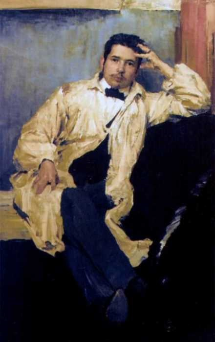 Ф. Малявин. Портрет художника К. А. Сомова, 1895 | Фото: artscroll.ru