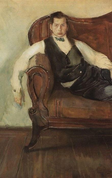 К. Сомов. Автопортрет, 1898 | Фото: gallerix.ru