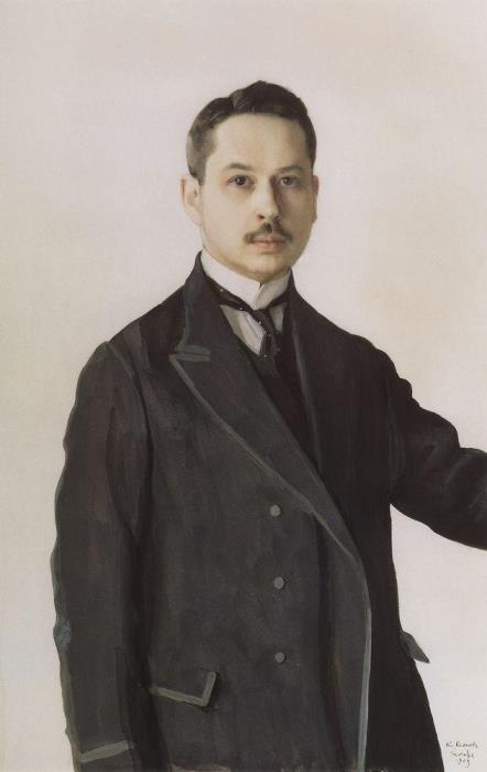 К. Сомов. Автопортрет, 1909 | Фото: gallerix.ru