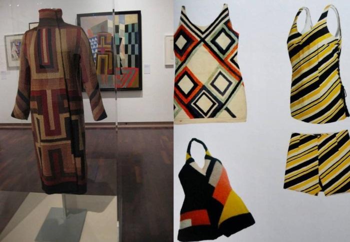 Купальники и пальто с *симультанной* аппликацией от Сони Делоне | Фото: liveinternet.ru