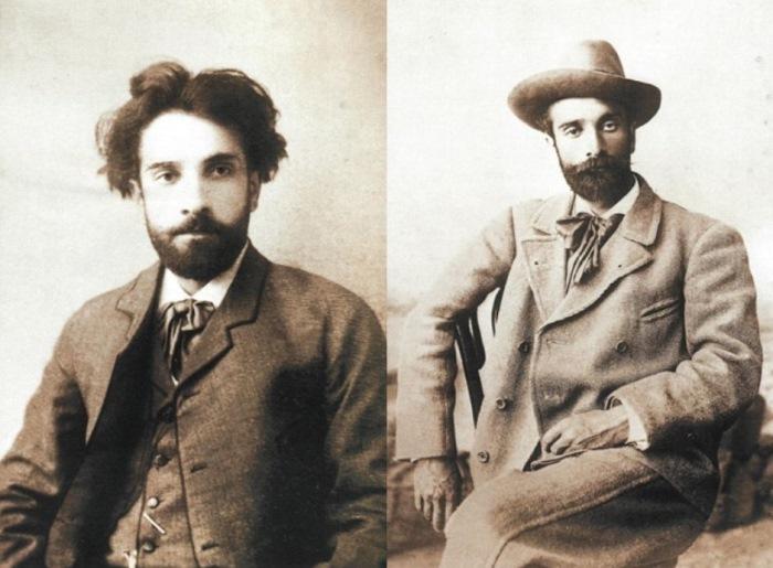 Слева – И. Левитан, фото 1884 г. Справа – И. Левитан, фото 1890 г. | Фото: persones.ru