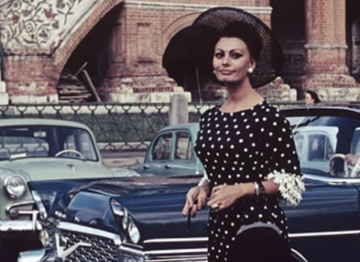 Софи Лорен в Москве, 1965 | Фото: drive2.ru