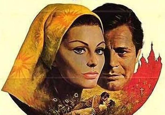 Софи Лорен и Марчелло Мастроянни в фильме *Подсолнухи*, 1969 | Фото: bigpicture.ru