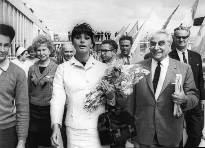 Софи Лорен на ММКФ-1965. Фото В. Генде-Роте | Фото: magspace.ru