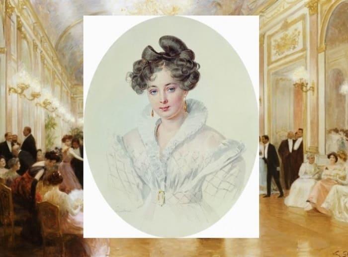 Светская красавица, фрейлина, фаворитка императора Николая I   Фото: gallery.ru