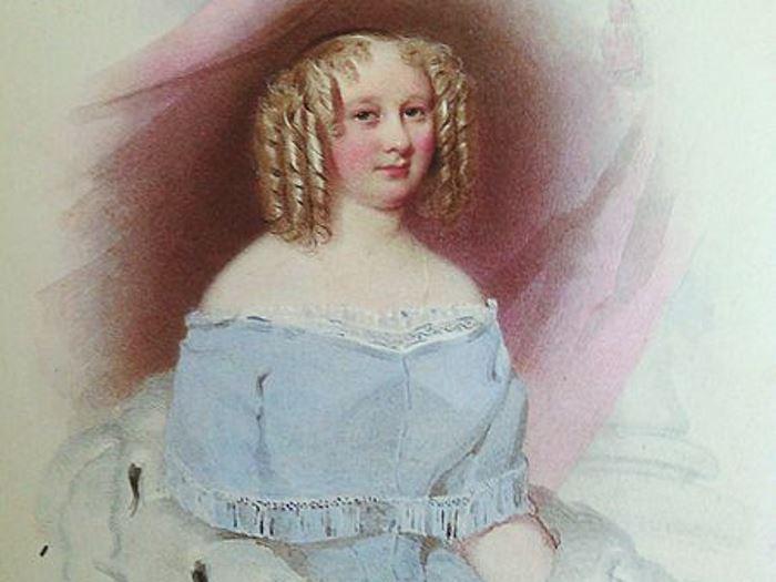 Княгиня Софья Радзивилл (предположительно), 1848 | Фото: yavix.ru