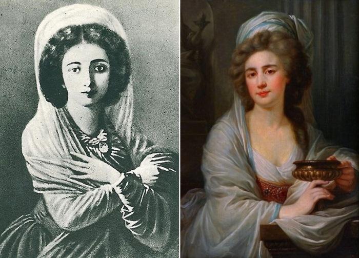 София Витт, 1780-е