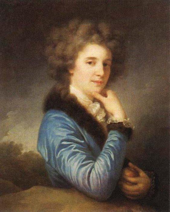 И. Б. Лампи. София Константиновна Потоцкая, 1790-е