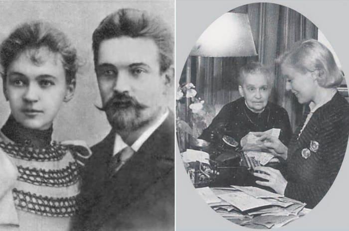 Слева – родители Любови Орловой. Справа – Любовь Орлова с матерью, Евгенией Николаевной | Фото: lubov-orlova.ru