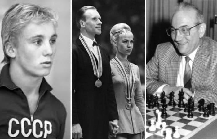 Советские спортсмены, совершившие побег из СССР | Фото: ridus.ru, yana.spox.ru и chess86.ru