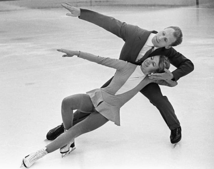 Фигуристы на льду, 1965 | Фото: aif.ru