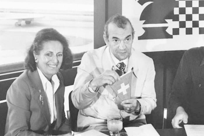 Виктор Корчной с женой Петрой в 1978 г. | Фото: dobrocom.info