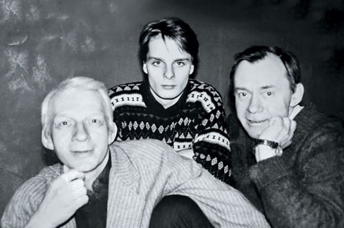 Владимир Носик с братом Валерием и племянником Александром | Фото: goodhouse.ru