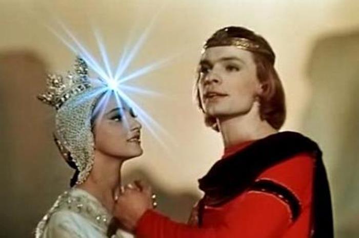 Ксения Рябинкина в *Сказке о царе Салтане*, 1966