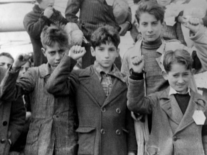 Дети республиканской Испании перед эвакуацией из Мадрида | Фото: gazeta.eot.su