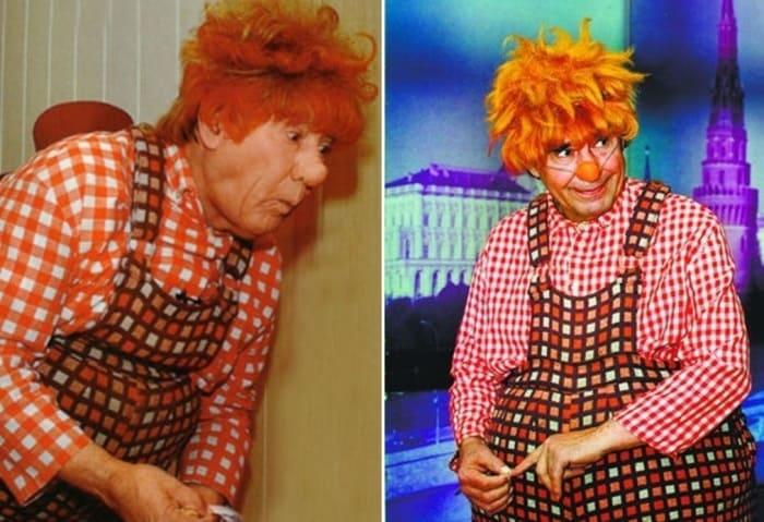 В образе Карлсона актер выходил на сцену театра около 2000 раз | Фото: kino-teatr.ru и chtoby-pomnili.com