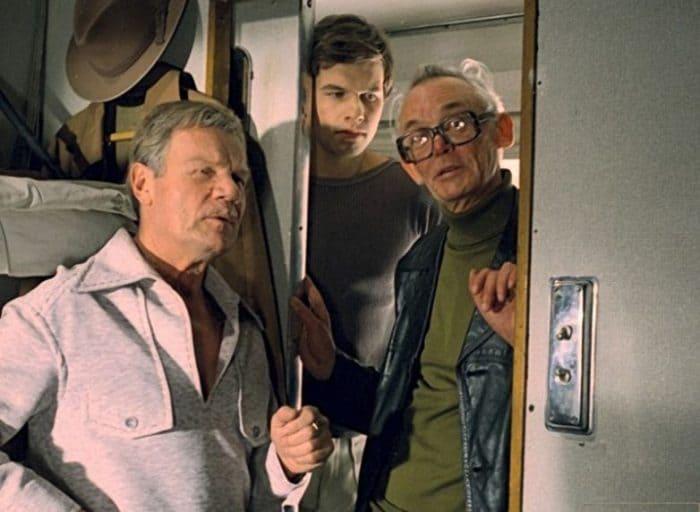 На съемках фильма *Спортлото-82* | Фото: back-in-ussr.com