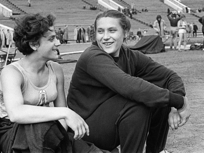 Сестры Тамара и Ирина Пресс   Фото: sports.ru