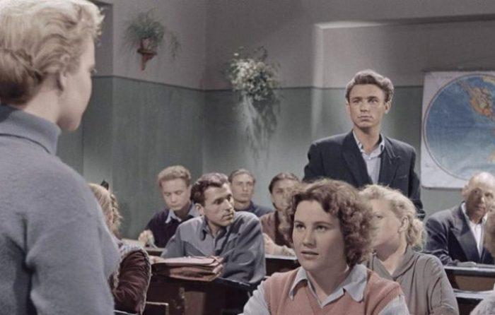 Кадр из фильма *Весна на Заречной улице*, 1956 | Фото: back-in-ussr.com