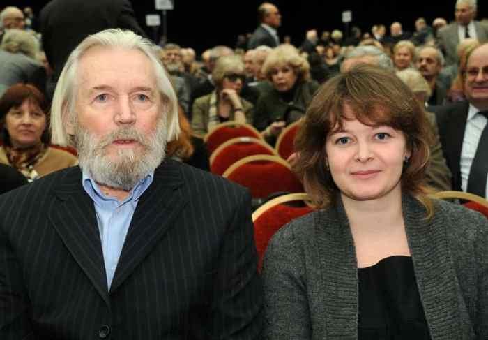 Актер со второй женой, Ириной Корнеевой | Фото: grammio.com