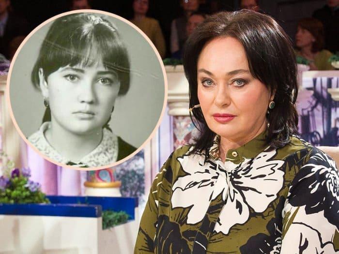 Лариса Гузеева в наши дни и в школьные годы | Фото: teleprogramma.pro