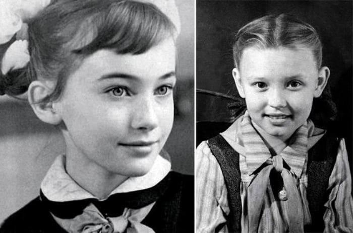 Лариса Гузеева в детстве | Фото: uznayvse.ru