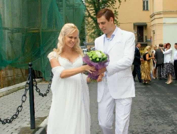 Свадьба Дмитрия Дюжева и Татьяны Зайцевой | Фото: uznayvse.ru
