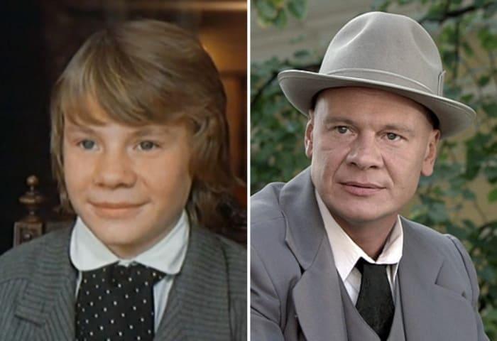 Владислав Галкин в фильмах *Золотая цепь*, 1986, и *Котовский*, 2009 | Фото: kino-teatr.ru