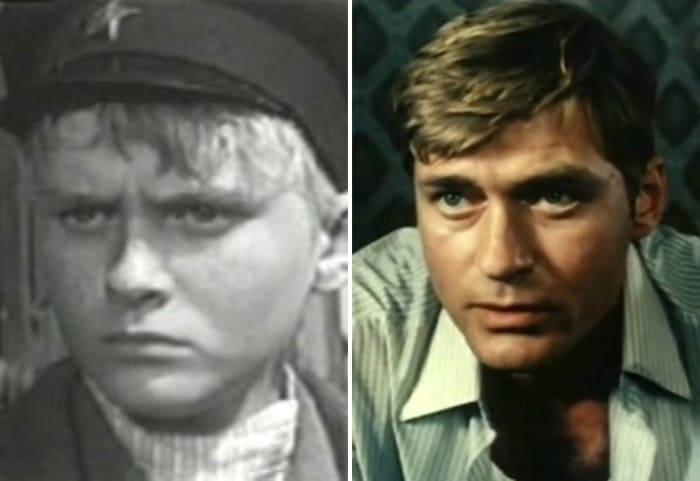 Борис Щербаков в фильмах *Мандат*, 1963, и *Отцы*, 1988 | Фото: kino-teatr.ru