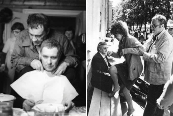На съемках фильма *Вокзал для двоих*, 1982 | Фото: liveinternet.ru