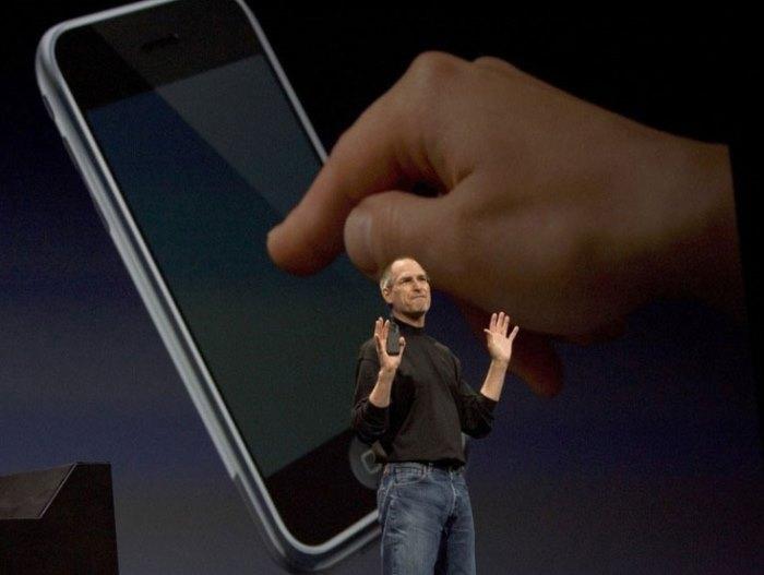 Выступление Джобса на конференции *Macworld*, 2011 | Фото: photolium.ru