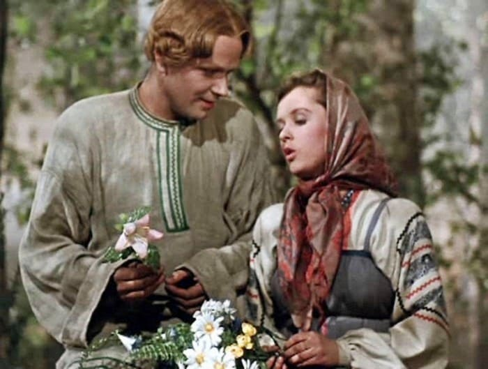 Кадр из фильма *Каменный цветок*, 1946 | Фото: cinemafirst.ru