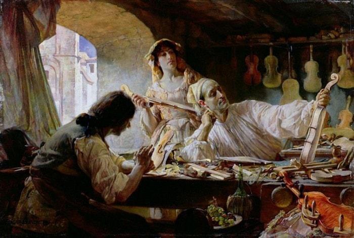 Э. Банди. Антонио Страдивари, 1893 | Фото: gallerix.ru