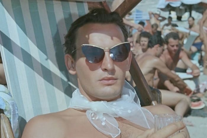 Василий Лановой в фильме *Полосатый рейс*, 1961 | Фото: vokrug.tv