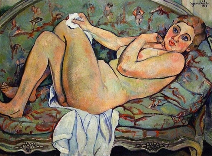 С. Валадон. Обнаженная, 1926 | Фото: allpainters.ru