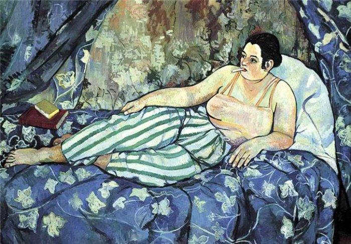 С. Валадон. Голубая комната, 1923 | Фото: liveinternet.ru