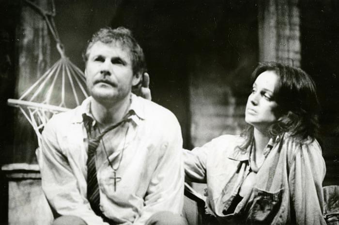 Светлана Аманова и Виталий Соломин на сцене театра | Фото: liveinternet.ru